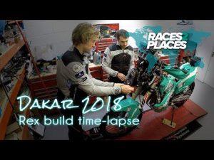 Races to Places – Dakar 2018 – Rex Build Time-Lapse – ft. Lyndon Poskitt