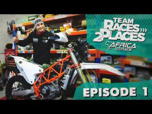 Race 2 Dakar 2020, Africa Eco rally Race ,Team Races to Places Ep.1 with Lyndon Poskitt