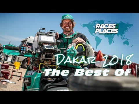 Races to Places – Best of Dakar Rally 2018 with Lyndon Poskitt