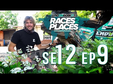 Races to Places SE12 EP09 – Zambia – Adventure Motorcycling Documentary Ft. Lyndon Poskitt