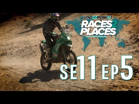Races To Places SE11 EP5 – Kalahari Rally – Adventure Motorcycling Documentary Ft. Lyndon Poskitt