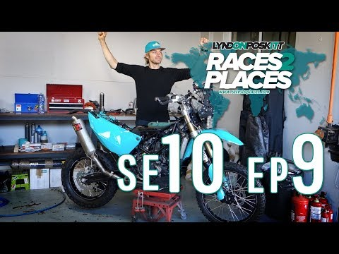 Races To Places SE10 EP09 – Adventure Motorcycling Documentary Ft. Lyndon Poskitt