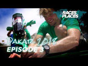 Races to Places – Dakar Rally 2018 – Episode 3 – ft. Lyndon Poskitt