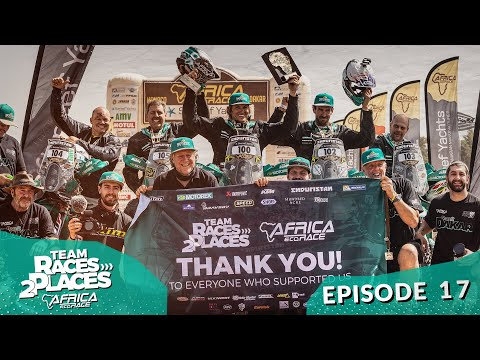 Race 2 Dakar 2020, Africa Eco rally Race, Team Races to Places Ep. 17 with Lyndon Poskitt