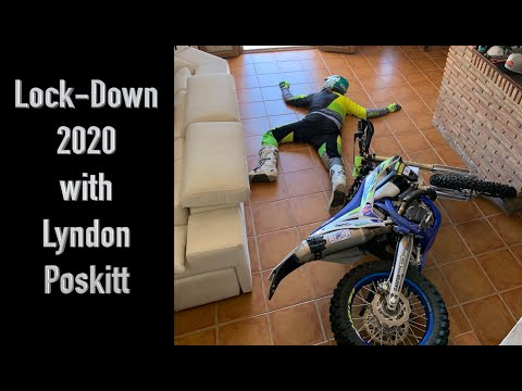 Read more about the article Lock-Down Boredom – Home Office Ride with Lyndon Poskitt