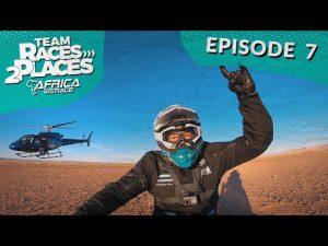 Race 2 Dakar 2020, Africa Eco rally Race, Team Races to Places Ep. 7 with Lyndon Poskitt