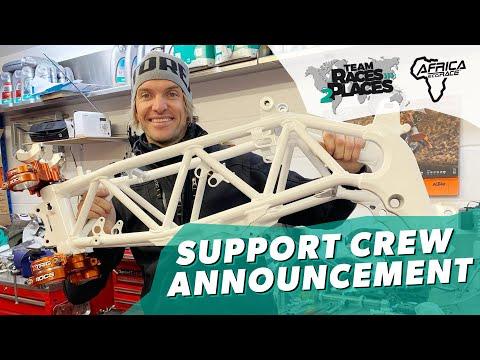 Race 2 Dakar 2020, Team Races to Places with Lyndon Poskitt: Support Team Announcement