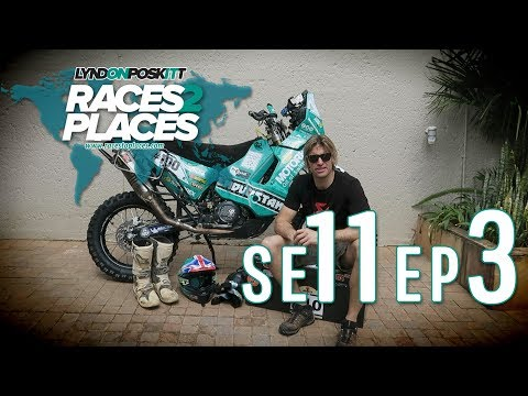 Races To Places SE11 EP03 – Adventure Motorcycling Documentary Ft. Lyndon Poskitt