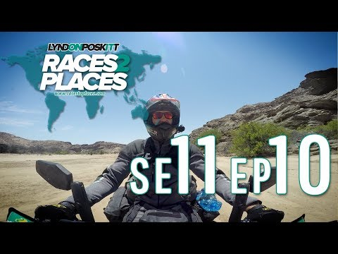 Races To Places SE11 EP10 – Adventure Motorcycling Documentary Ft. Lyndon Poskitt
