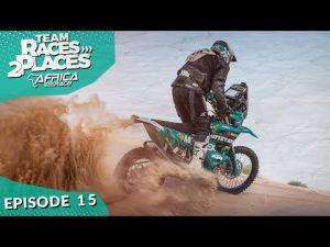 Race 2 Dakar 2020, Africa Eco rally Race, Team Races to Places Ep. 15 with Lyndon Poskitt
