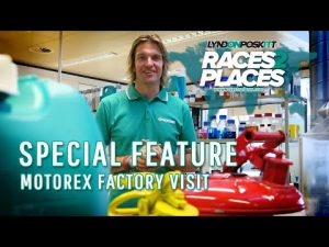 Races to Places – Motorex Factory Visit 2019 Ft. Lyndon Poskitt