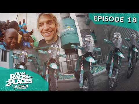 Race 2 Dakar 2020, Africa Eco rally Race, Team Races to Places Ep.18 with Lyndon Poskitt