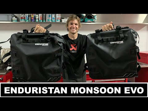 Read more about the article Enduristan Monsoon Evo Panniers – Lyndon Poskitt Racing