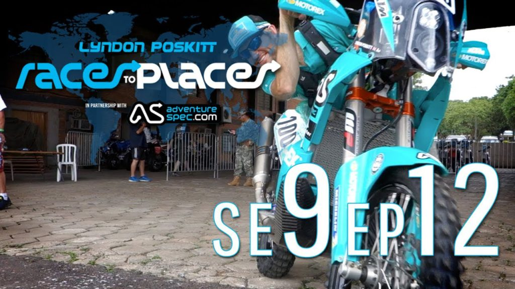 Adventure Motorcycling Documentary Races To Places SE9 EP12 Ft. Lyndon Poskitt