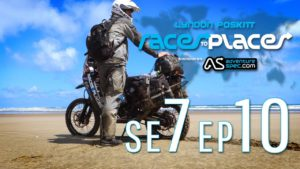 Adventure Motorcycling Documentary Races To Places SE7 EP10 Ft Lyndon Poskitt