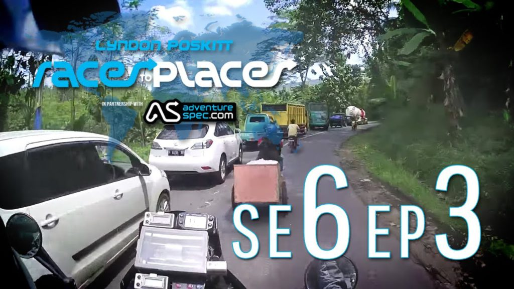 Adventure Motorcycling Documentary    Races To Places   SE6 EP3 Ft  Lyndon Poskitt