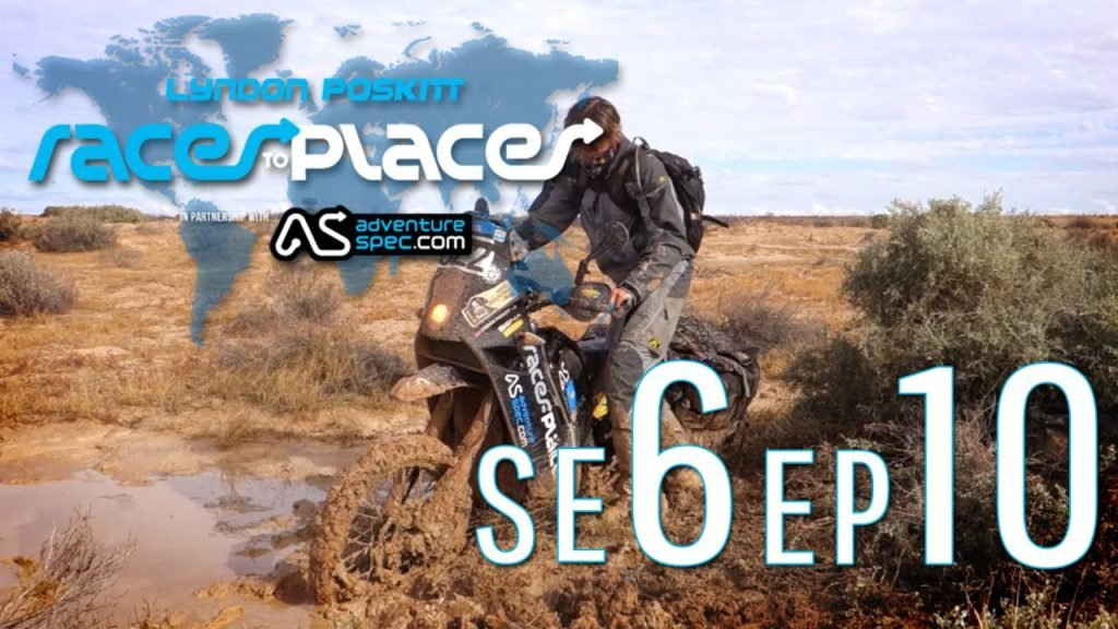Adventure Motorcycling Documentary   Races To Places   SE6 EP10 Ft  Lyndon Poskitt