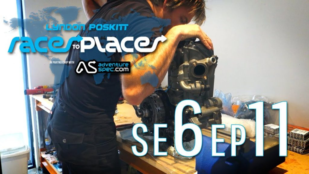 Adventure Motorcycling Documentary   Races To Places   SE6 EP11 Ft  Lyndon Poskitt