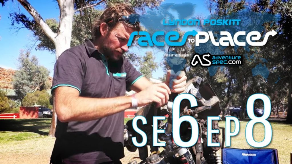 Adventure Motorcycling Documentary   Races To Places   SE6 EP8 Ft  Lyndon Poskitt