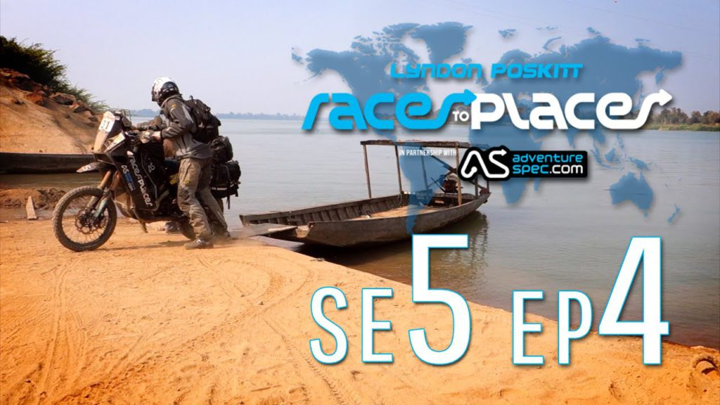 Adventure Motorcycling Documentary – Races To Places – SE5 EP4 Ft. Lyndon Poskitt