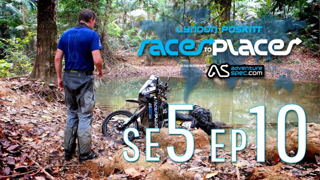 Adventure Motorcycling Documentary   Races To Places   SE5 EP10 Ft  Lyndon Poskitt