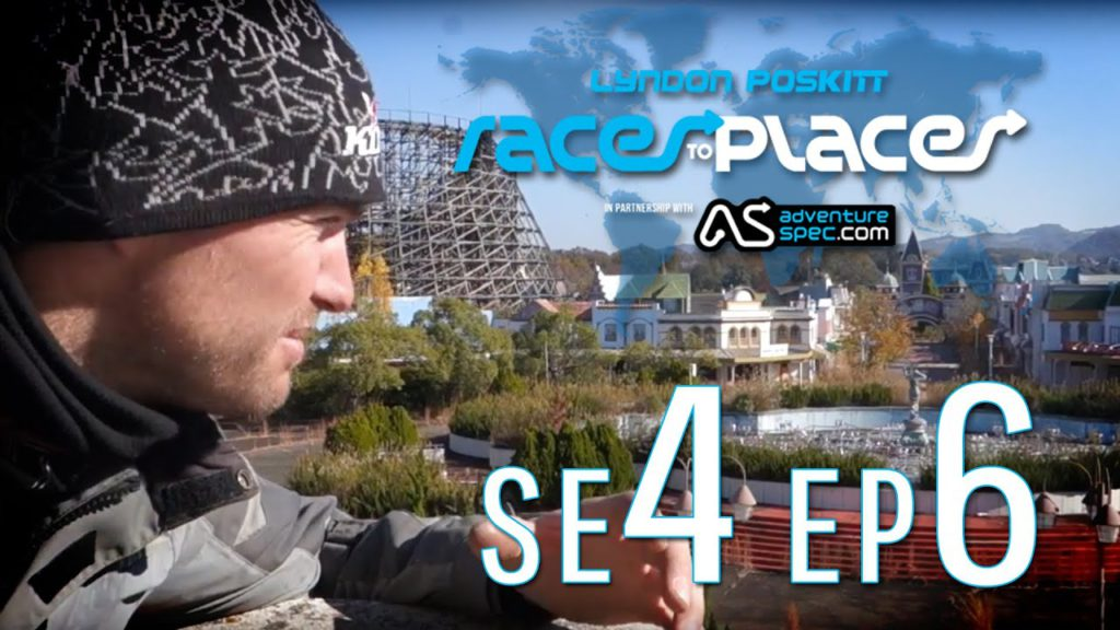 Adventure Motorcycling Documentary – Races To Places SE4 EP6 – Nara Dreamland  – Urban Exploration