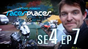 Adventure Motorcycling Documentary – Races To Places SE4 EP7 Ft. Lyndon Poskitt