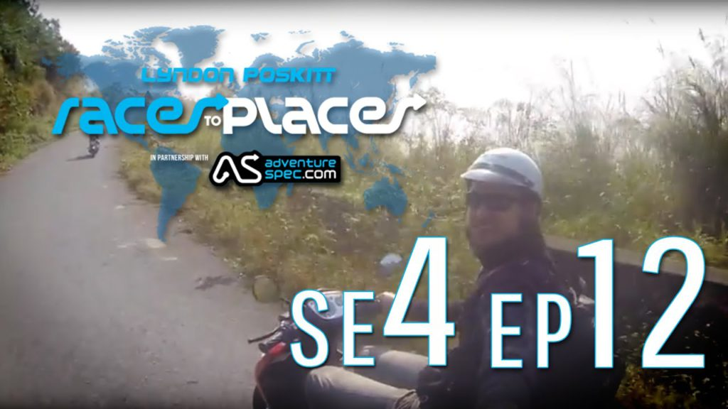 Adventure Motorcycling Documentary – Races To Places SE4 EP12 Ft. Lyndon Poskitt