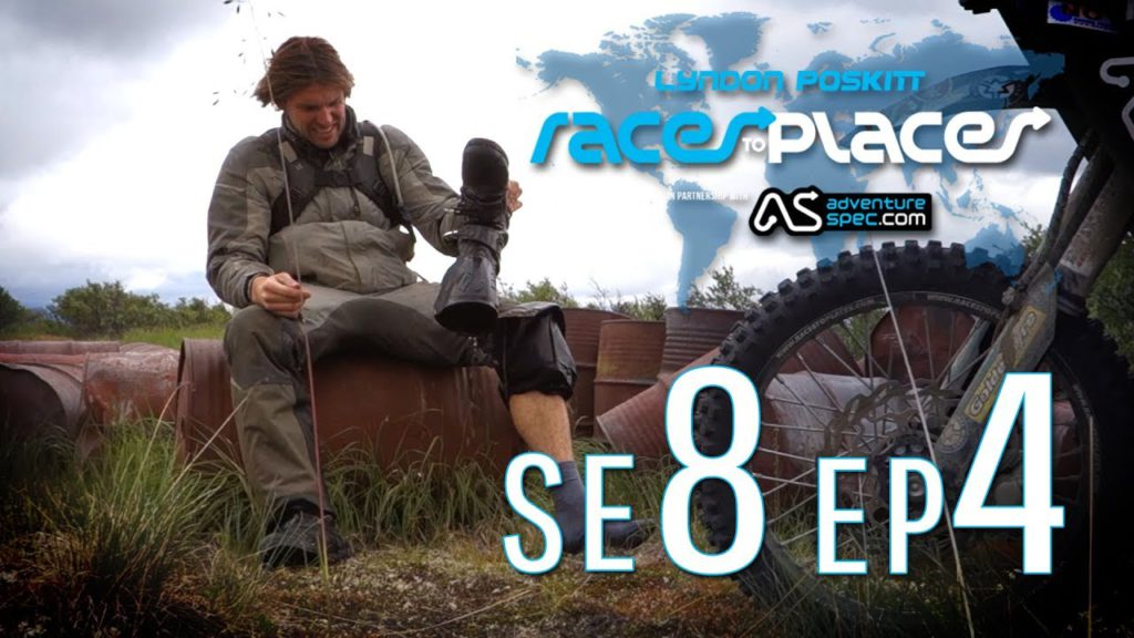 Adventure Motorcycling Documentary Races To Places SE8 EP4 Ft. Lyndon Poskitt