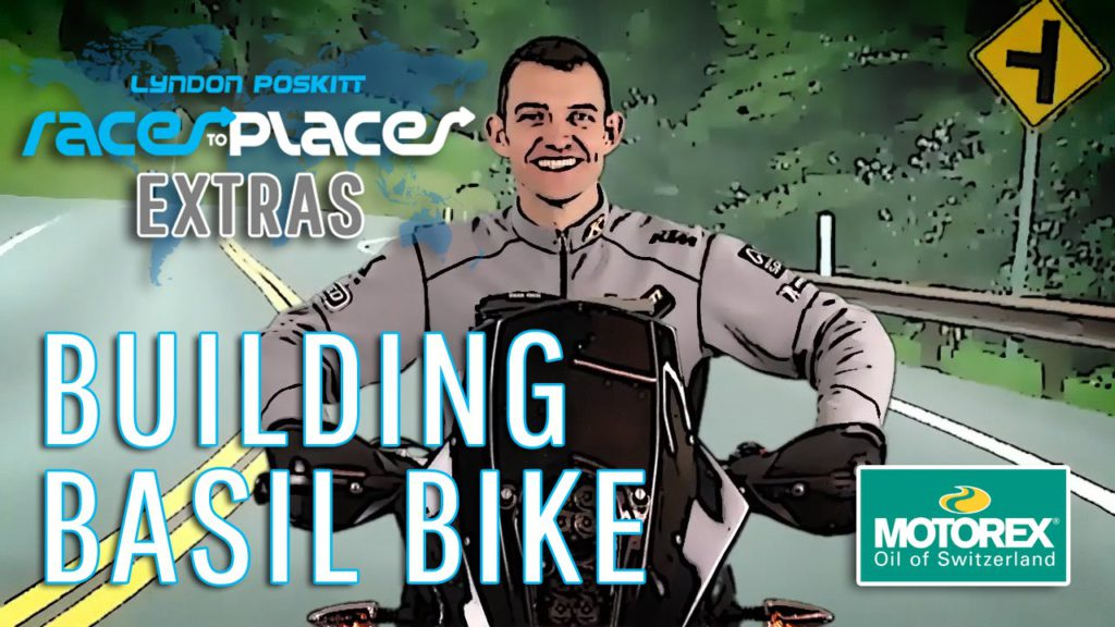 RACES TO PLACES The Genesis Of Basil Bike (Full time lapse build)