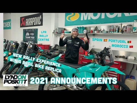 Lyndon Poskitt Racing 2021 Announcements
