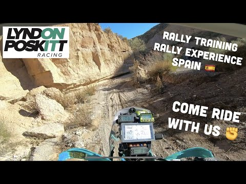 Lyndon Poskitt Racing – Ride With Us – Rally Training Spain
