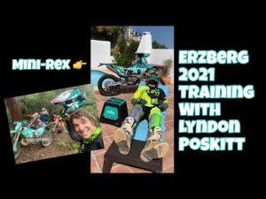 Erzberg Training is going well for 2021 with Lyndon Poskitt