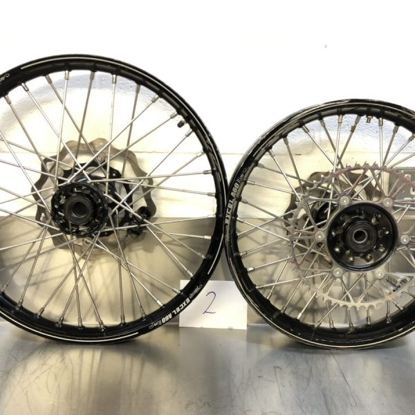 Used Woody's Wheel Works KTM Enduro Wheels (2)