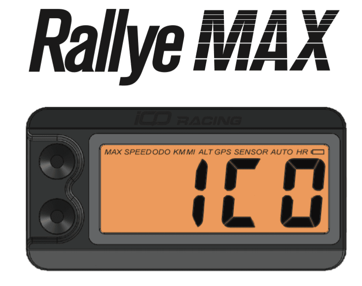 ICO Racing Rallye Max 2 Trip Computer