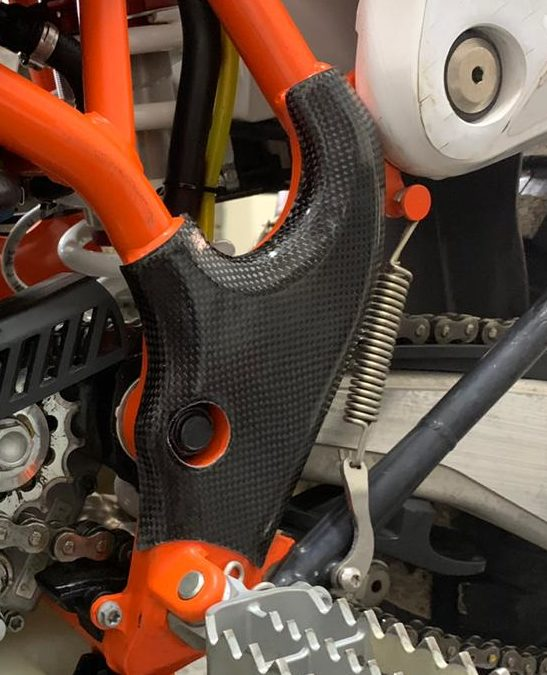 Carbon Frame Protection for 2019-2021 Factory 450 Rally