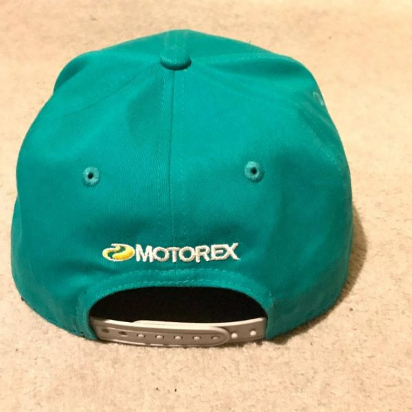 Motorex Cap – Optionally signed by Lyndon