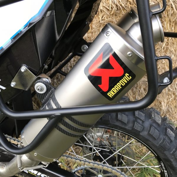 Akrapovič Factory Titanium Silencer Set for KTM 690 Rally – Exhaust