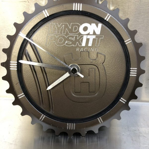 Limited Edition LPR KTM / Husqvarna LC4 CNC Machined Clock
