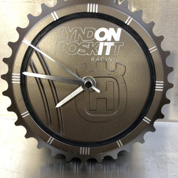 Limited Edition LPR KTM / Husqvarna LC4 CNC Machined Clock