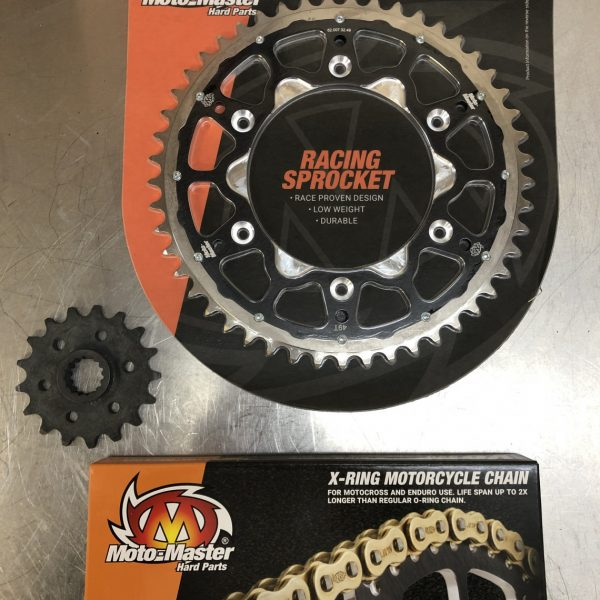 Moto-Master Chain and Sprocket Kit 17/49 for LC4 with Nova Transmission