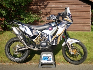 round the world sibersky extreme 690 rally replica ultimate bike