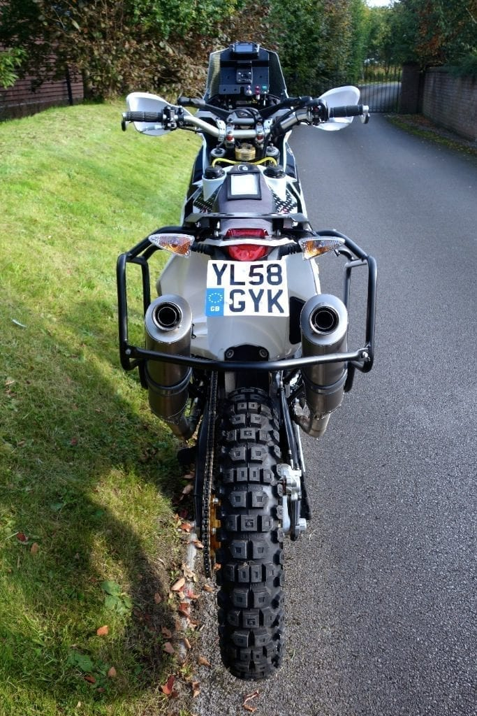ultimate RTW 690 adventure titanium silencers