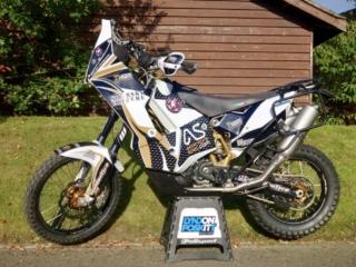 sibersky extreme 690 adventure rally bike