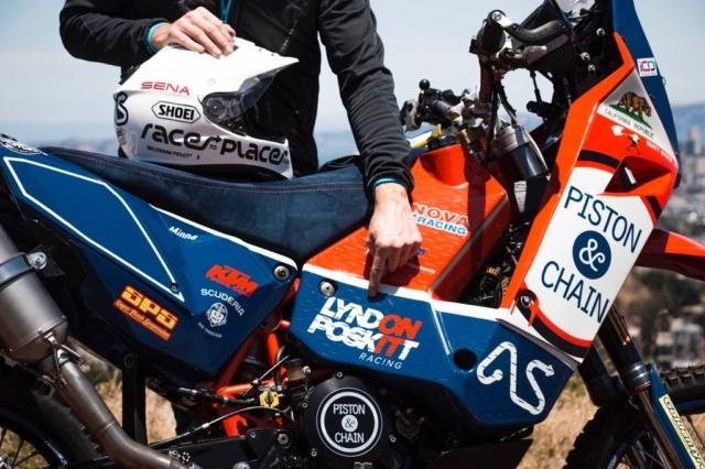 Lyndon Poskitt Racing 690 rally