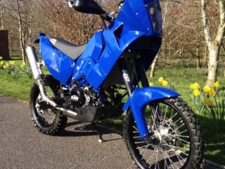 lightweight 690 rally bike