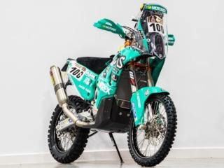 Motorex 450 Rally Bike Dakar 2017 Radiator Bashplate