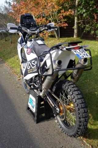 ultimate 690 adventure bike RTW