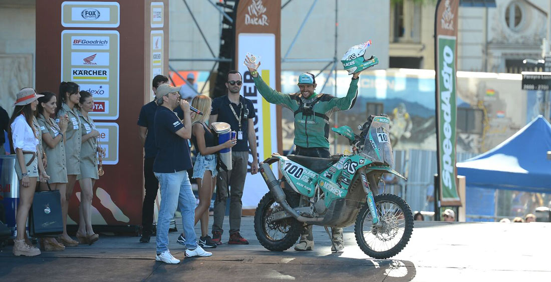 Dakar Rally Podium