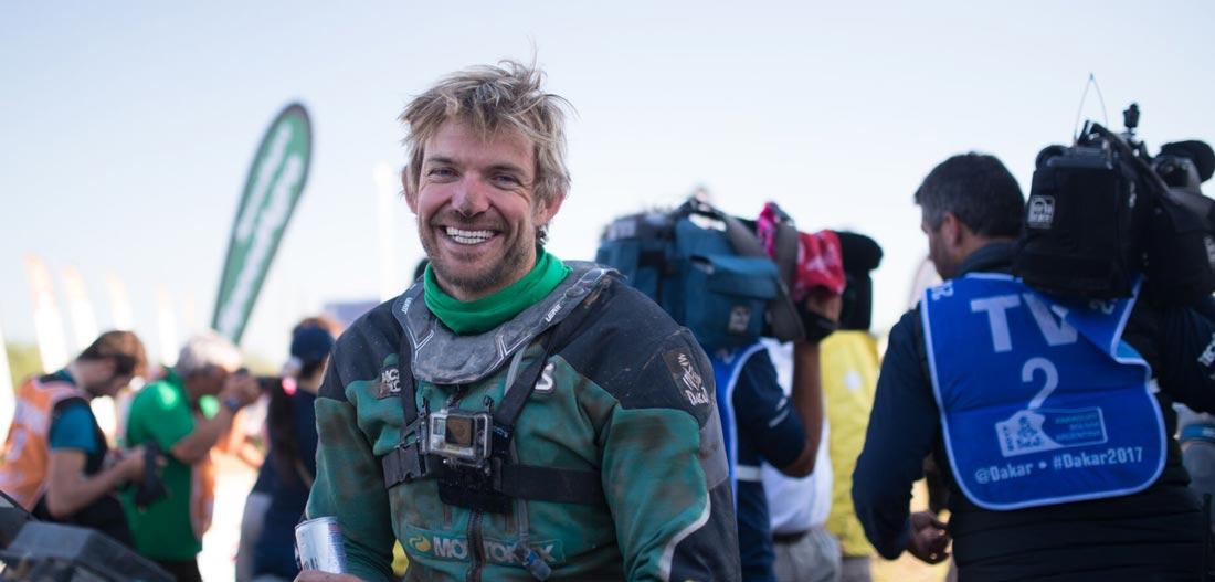 Lyndon Poskitt Dakar Rally